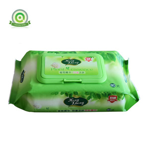 Wholesale Custom  Antibacterial Hand and Face Wet  Wipes  For adult and baby