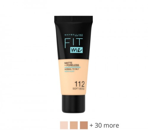 Maybelline Fit Me Matte and Poreless Foundation