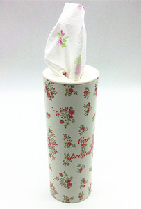 2016 new product printed facial tissue for car application