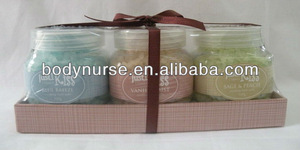 3*100g bath salts set with nice scent
