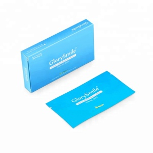 Best Selling GlorySmile/ OEM/ Private Label CE Approved Whitening Tooth Strips Teeth Whitening Strips