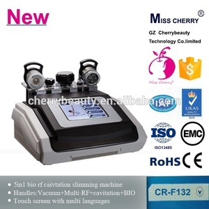 Cavitation Vacuum RF Slimming Body Shaping Weight Loss Beauty Equipment