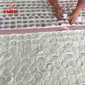 Discharge make  up cotton pad ,Nonwoven Round makeup cotton pad