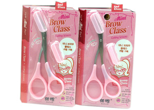 Permanent Makeup Accessories Pink Eyebrow Tattoo Scissors With Best Price