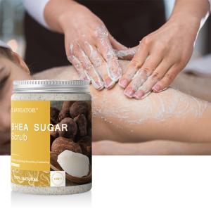 Wholesale Natural Shea Butter Body Scrub Whitening Body Face Scrub
