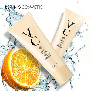 FREE SAMPLES private label natrual vitamin C organic facial cleanser, face wash for oily skin