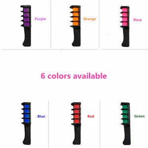 New Design Hair Mascara Temporary Hair Color Mini Hair Dye With Comb