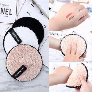 Private Label Face Clean Magic Microfiber Reusable Makeup Remover Pad