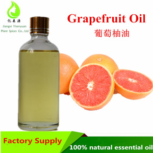 Therapeutic grade 100% Natural Grapefruit essential oil For Anti-infection or moisturizing