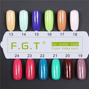 UV/Led Easy Soak Off colorful nail art painting gel polish