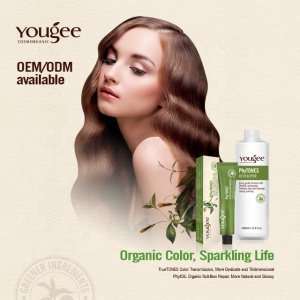 Yougee brands hair dye manufacturer wholesale natural phytone hair dye color cream with free sample