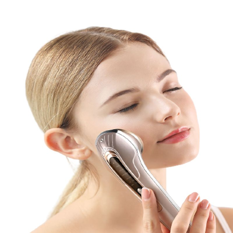 Radio Frequency Beauty Instrument EMS RF LED Light Therapy Facial Beauty Device Photon Skin Rejuvenation Device