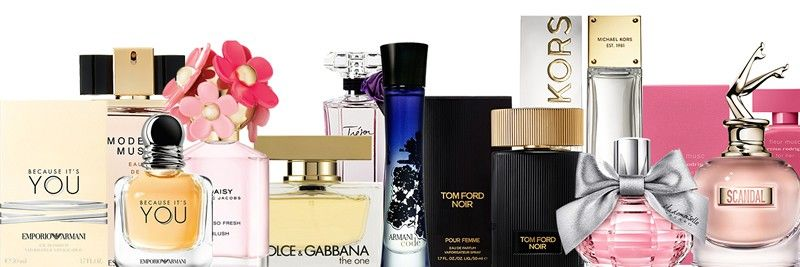 All major fragrance brands