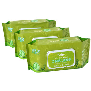 100% bamboo super soft biodegradable baby wipes wet wipes