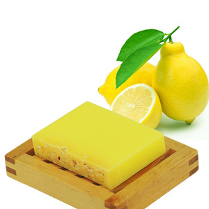 100% Natural Lemon Soap Handmade