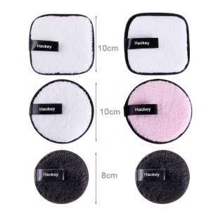 2020 Hot Selling Makeup Remover Cleaning sponge Microfiber Washable Facial Makeup Remover Pad