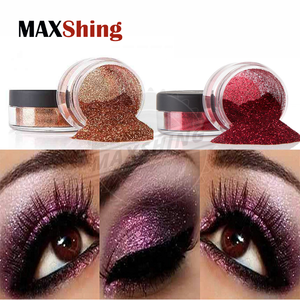 Cosmetic bulk glitter powder flakes body glitter pigments