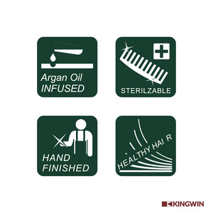 Factory Custom Beauty Hairdressing hair Salon carbon fiber comb hairbrush