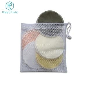 Happyflute bamboo reusable nursing pad washable breast pads