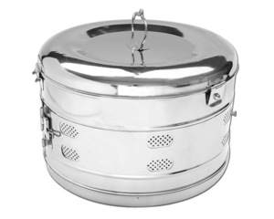 Hospital Dressing Drums biohealthcare High Quality Stainless steel