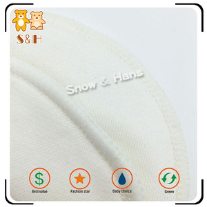 Hot Selling Colorful Washable Organic Nursing Pads
