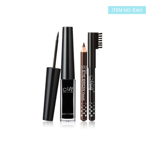 Make up Menow E401 Waterproof and Long-wear dark Liquid Eyeliner