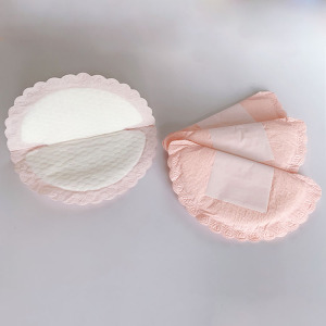 MB05-03 Custom cotton eco friendly female breast bra pads dry disposable nursing pads