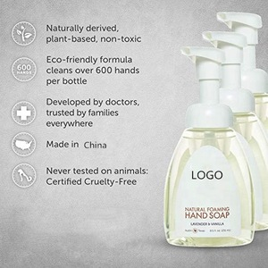 OEM Natural Foaming Hand Soap  Sulfate-Free Hand Wash, Lavender & Vanilla