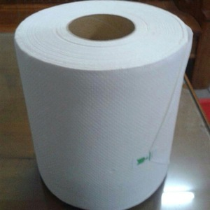 White /Brown Recycled pulp Hardwound Roll Towel paper