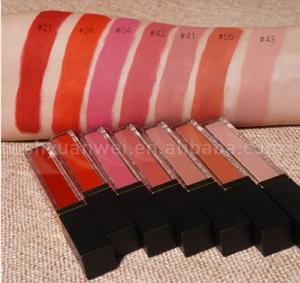 wholesale best seller organic vegan waterproof velvet liquid lipstick matte customize your logo