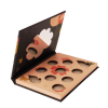 Novel Design Empty Eyeshadow Palette box custom with abnormal Mirror shadow face complexion palette