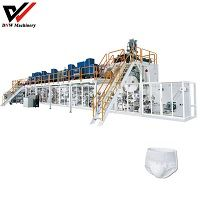 Semi Servo Pull Up Adult Diaper Making Machine