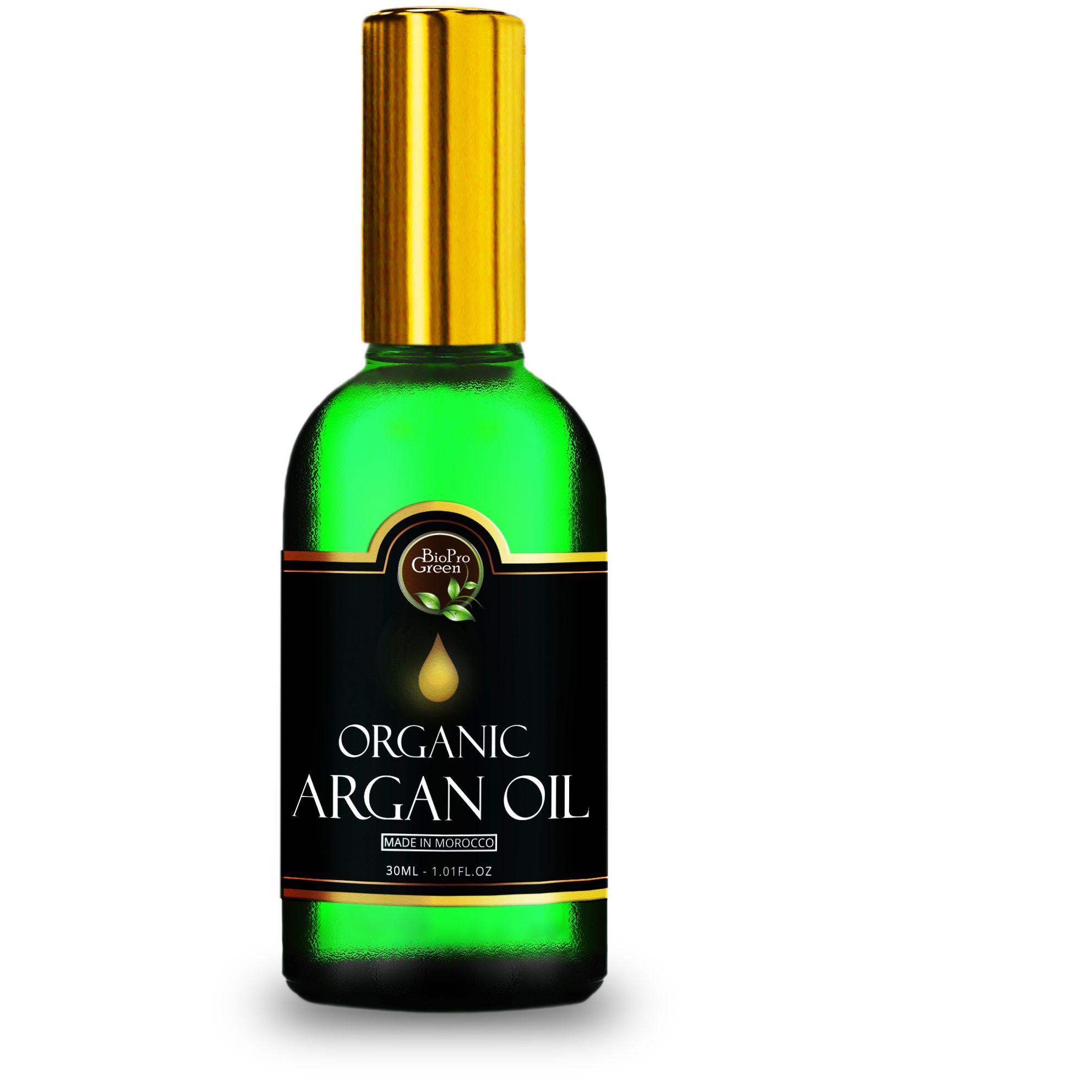 100% pure argan oil , Rich in Vitamin E cerified organic .