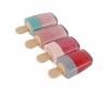 Hot Sale Popsicle High Shimmer Moisturizing Fruit Flavor Lipgloss Cosmetics