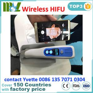 2017 New Generation WIFI Hifu Anti- winkle machine/ Portable