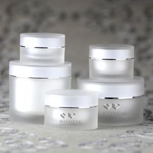 5g 1 oz 50ml 200ml White Frosted Cream Jar high quality acrylic jar Mask Jar