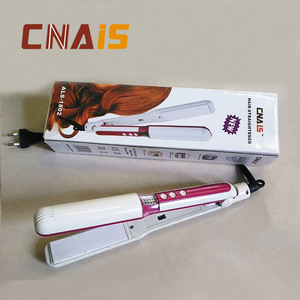 AiLiSi Brand automatic professional hair straighteners/flat iron ALS-1802