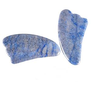 Blue Aventurine Guasha Board Blue Stone Gua Sha Boards Tools