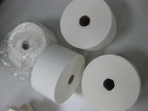 customizable logo print & pack for different layer of  toilet tissue /disposable recycled pulp jumbo paper for toliet roll