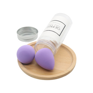 Eco-friendly Soft makeup foundation blender private label non latex Make Up Sponge 2 pcs makeup sponge set