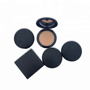 Facial cosmetic long lasting waterproof pressed powder private label makeup foundation cream