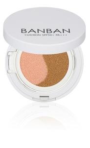 LEBATON BANBAN CUSHION SPF50+ PA+++: 2-in-1 Cushion: Pink Moisturizing Makeup Base & Cover Foundation in 1 Item