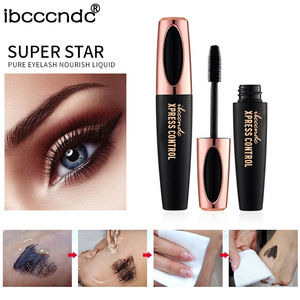 f5e12125adb New 4D Silk Fiber Lash Mascara Waterproof Rimel 3d Mascara For Eyelash  Extension Black Thick Lengthening