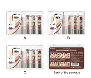 New Arrival hot sale  brighten cosmetics foundation stick multi purpose  6 in 1make up concealer