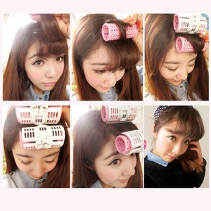 New Arrival Plastic Hair Rollers Sleeping In Curling Hair Curlers Tools 6040 size S 6.8cm*2.3cm