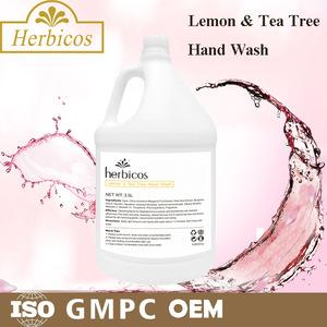 Oem  Herbicos SPA lemon & tea Tree moisturizing liquid hand wash