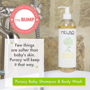 Private label natural organic skin white care baby body wash shampoo