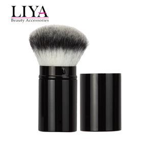 Retractable Kabuki Blush Foundation Powder Brush in Cosmetic tools