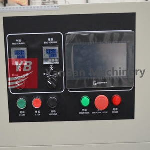 Shanghai factory YB-600 Wet Towel Pillow Packing Machine bread Passion fruit makeup cotton packing machine