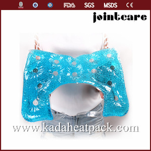 Shoulder heat pad; bath gift set gel beads hot cold pack